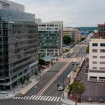 DDOT Contemplates M Street Separated Bike Lane Near Baseball Stadium