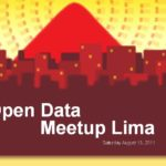 Upcoming Event: Open Data Meetup Lima