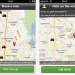 Ola! Book a Cab with a Smartphone App