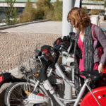 """Lyon, France, introduced the most recent """"3+"""" bike-sharing generation. Photo by juicebox013."""