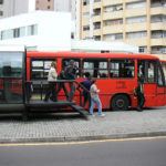 Curitiba BRT. Photo by Thomas Locke Hobbs.