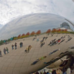 Cloud Gate, a public sculpture in the US city of Chicago. Photo by Marshall Segal.