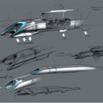 The Hyperloop's alpha designs. Photo via Tesla Motors.