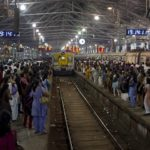 Mumbai train station