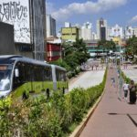 The redesigned BRTdata.org platform shows the global rise in bus rapid transit and bus priority corridors, and allows users to compare bus systems across a wide range of metrics. Photo by Mariana Gil/EMBARQ Brasil.