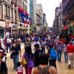 Mexico City's pedestrian-friendly historic downtown